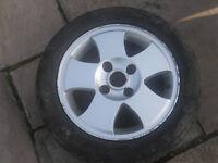 ford fiest alloy wheel