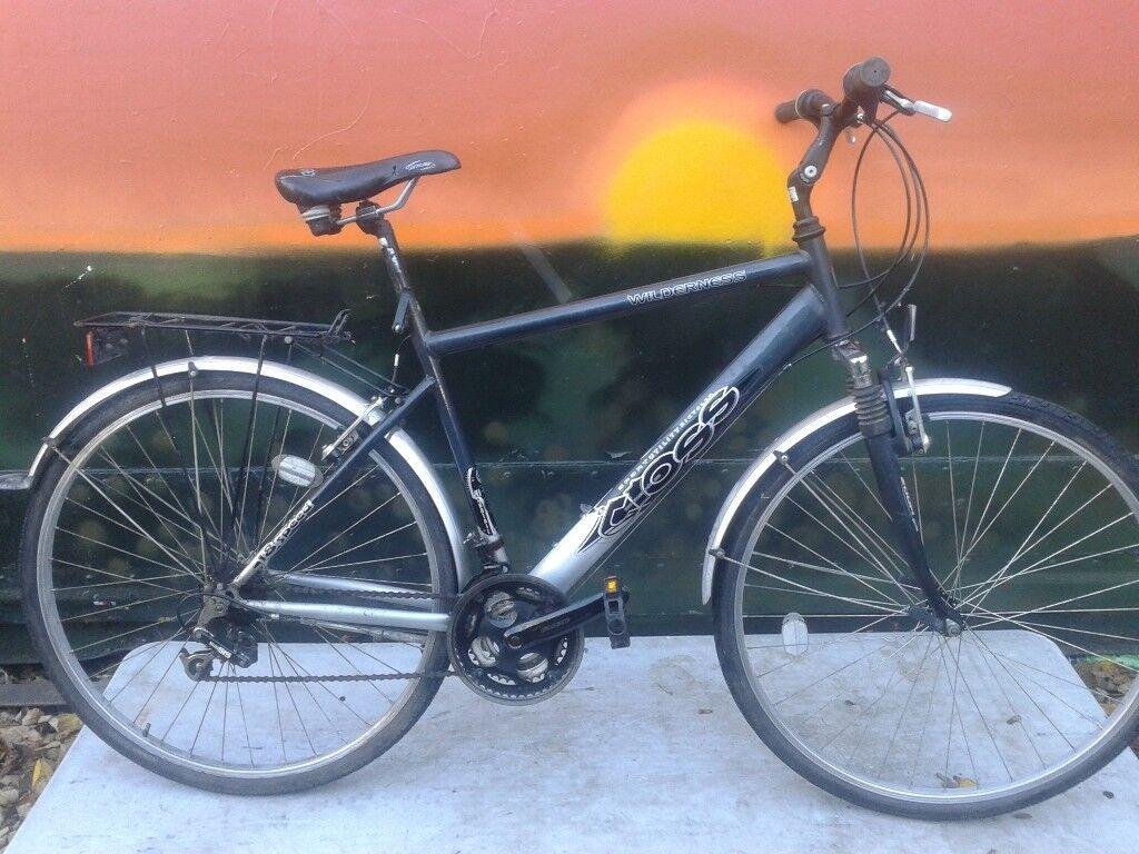 Wilderness Cross Commuter Hybrid FS Large Road Bike