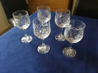 Lead crystal glassware