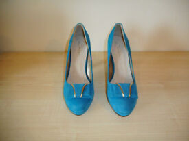 BRAND NEW Juliet Turquoise Shoes Size 6