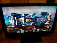 "Panasonic Plasma 42"" TV TH42PZ81B 42 Inch Full HD 1080p 3HDMI FreeView"