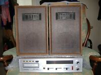 Orion Stereo 8 track, radio amplifier plus speakers.