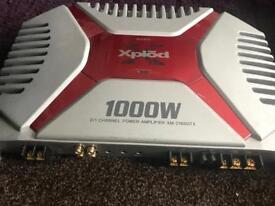 Sony 1000 watt 2 channel amplifier
