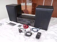 Technics SU-600 Stereo Integrated Amp + Technics SL-PG490 CD player + Technics SB-CS5 120W speakers