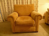 Comfy armchair for sale, only 3 years old from John Lewis'