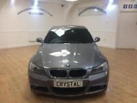 BMW 3 SERIES 2.0 320D M SPORT 4d AUTO 181 BHP 6 MONTHS WARRANTY (grey) 2011