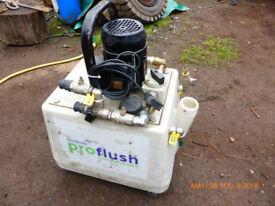 central heating flush service pump oil fired gas etc water pump no vat.
