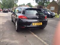 Excellent Condition Black VW Sirocco