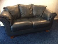 Two leather sofas, exceptional condition
