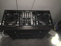 Dj decks - Djm 750mixer and cdj 850