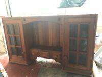 Kitchen unit hardwood