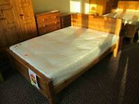 Double Panel Bed