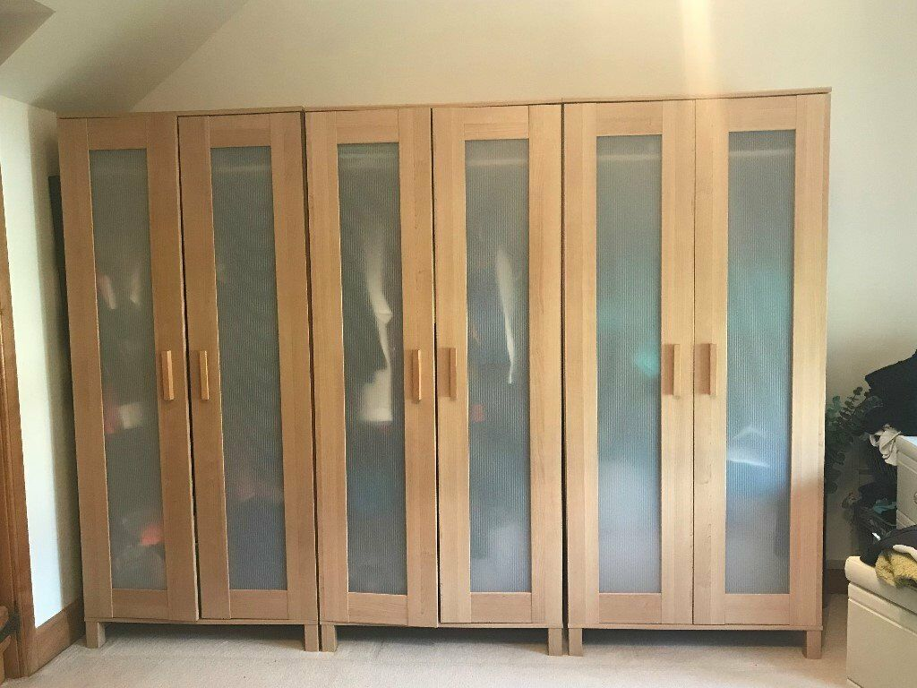 Sold Ikea Aneboda Wardrobe X3 In Frenchay Bristol