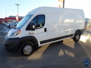 "2018 Ram 2500 ProMaster 159"" WB High Roof Cargo Van, 3.6L Gas"