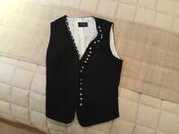 Linea Black Ladies Waistcoat Size 10