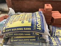 Free building sand, sharp sand and ballast