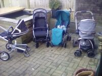 Silvercross surf. Mothercare orb. Mamas and Papas strollers