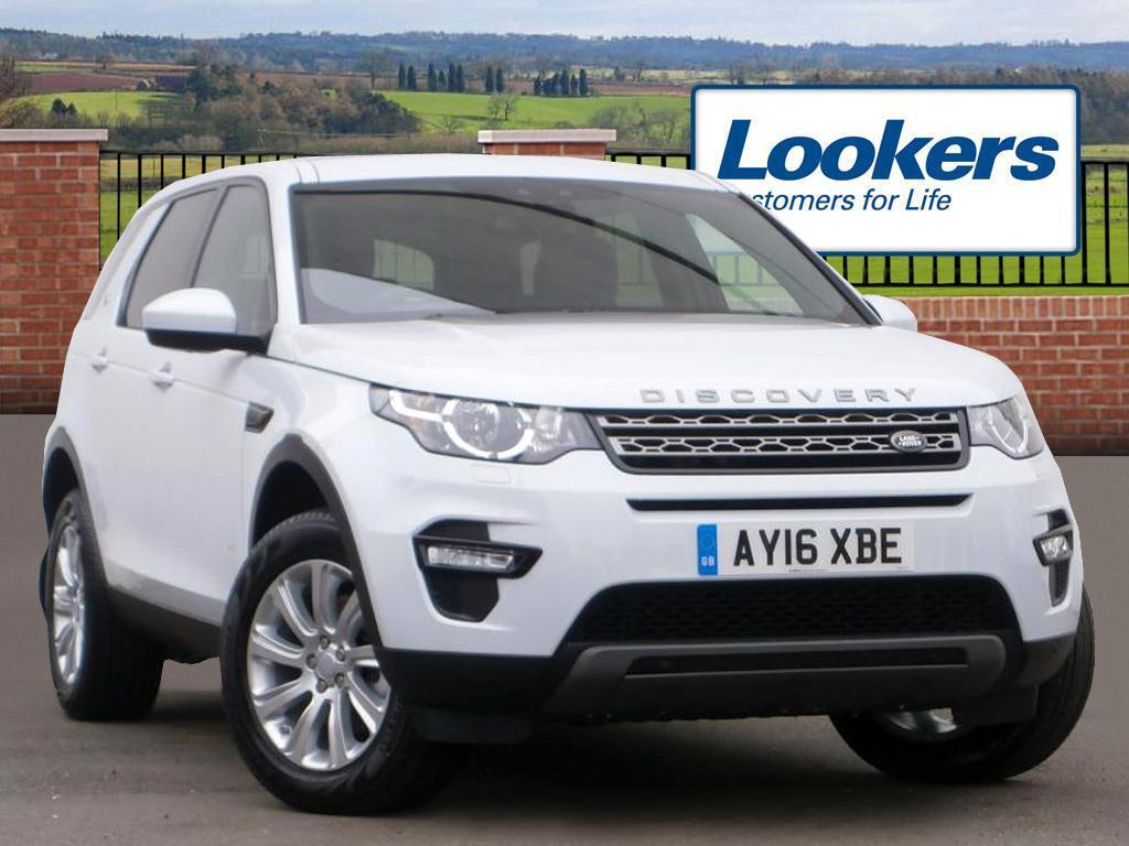 land rover discovery sport td4 se tech white 2016 03 30 in colchester essex gumtree. Black Bedroom Furniture Sets. Home Design Ideas
