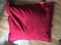 Red 'Big Bertha' beanbag