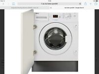 New beko qwm84 integrated washing machine