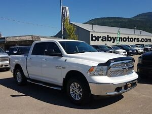 2014 Ram 1500 SLT Crew Cab Leather, Bluetooth, Upgraded Tires