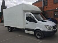 Mercedes Benz sprinter Luton box van 2011 61 313 cdi lwb high roof 1 owner drives excellent no vat