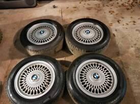Bmw alloys 15inch REDUCED CHEAP