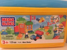 Mega Bloks - Mini Bloks Tub 120 pieces