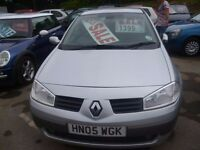 Renault MEGANE Dynamique 16v,5 dr hatchback,full MOT,clean tidy car ,runs and drives well,HN05WGK