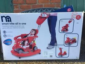 Kids all in one smart trike