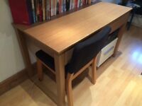 Desk / table with two drawers