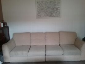 Four seater settee (in 2 x 2 seaters) see photos