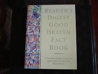 New Readers Digest Good Health Fact Book, hardback