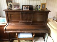 Thomas Benstead piano - in need of tuning and some TLC but fundamentally sound