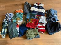 Large Baby Boy 9-12 Months Clothes Bundle - 41 items!