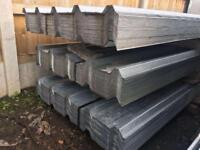 🌩50 = £500 ~ New Box Profile Galvanised Roof Sheets •