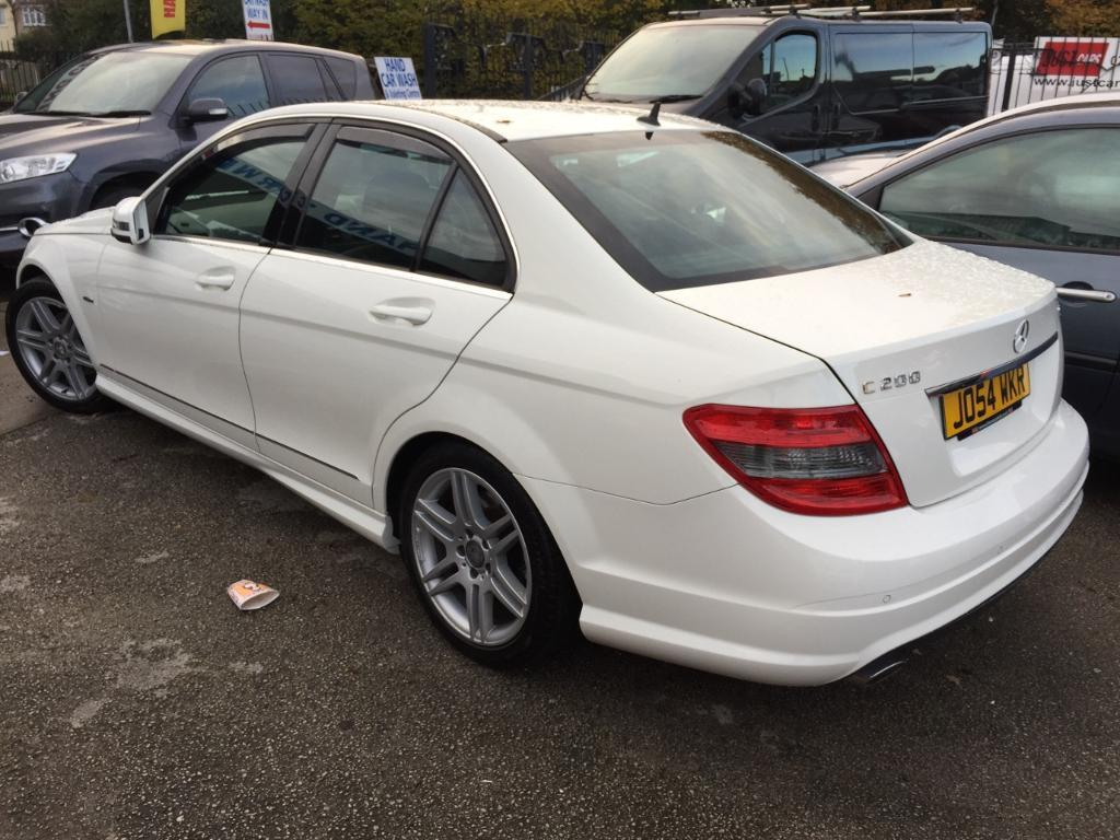 Mercedes-Benz C Class C200 CDI BlueEFFICIENCY Sport 4dr (white) 2010
