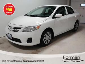 2012 Toyota Corolla S - Heated Seats | As low as $90 b/w!*