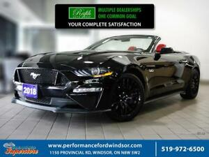 2018 Ford Mustang GT Premium ***CAP Unit,  GT Performance Pkg***