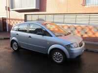 Audi A2 1.4TDI Full Year MOT / 30£ Tax / > 60 MPG
