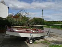 GP14 with road trailer, all accessories, ideal for family
