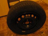 175-65-14 tyre on Corsa rim like new