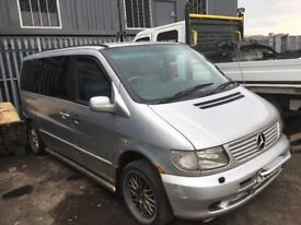 Mercedes vito van breaking parts available