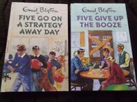 NEW YEAR SALE Two 'spoof' Enid Blyton for grown-ups books - see photos - both brand new