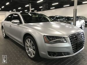 2012 Audi A8 W12 6.0- QUATTRO-EXTREMELY RARE-NAVI-BACKUP CAMERA