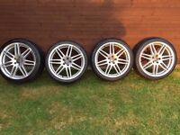 "Audi Alloys - VW Alloys - RS4 Style - 18"" Wheels - 5 x 100 Stud Pattern"