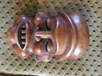 African hardwood mask