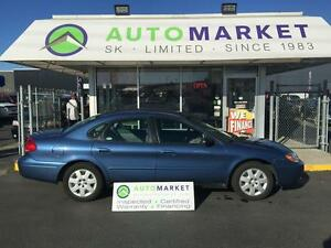 2004 Ford Taurus LX ONLY 65,000 km's!! Warranty too!
