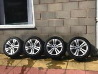 Set of 4 Genuine BMW f30 Alloys
