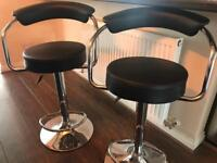 Two bar stools for sale - £30 each or £50 for both
